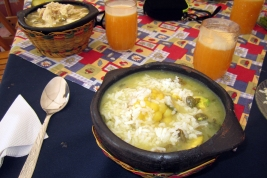 Sancocho in Cota, Colombia