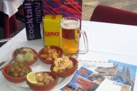 Tapas y Larios