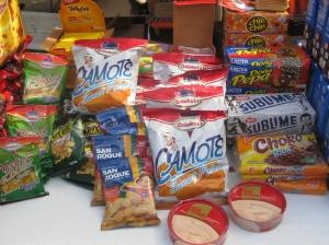 perishables de Peru: snacks from afar