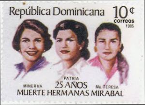 Mirabal sisters stamp