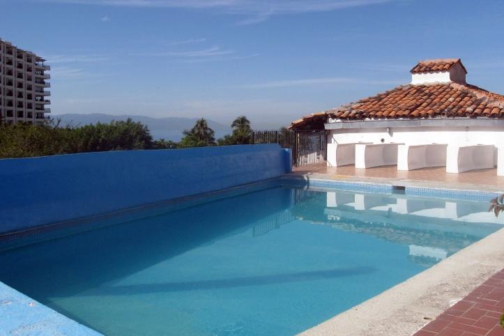 Poolside at Hotel Encino