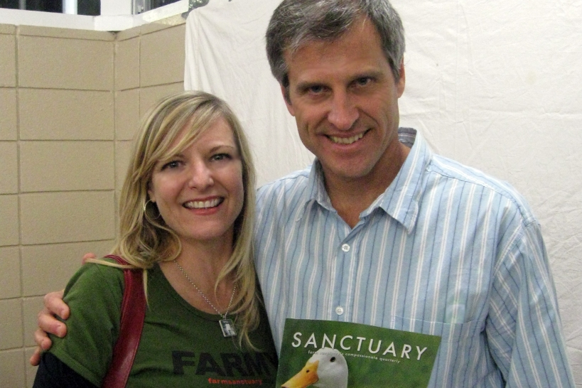 Meeting Gene Baur, November 2011