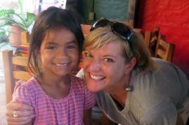 Me and a special chica de La Bridada