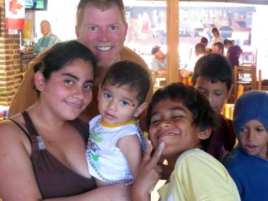 Calamardo, Jesus and the kids