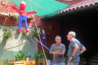Michael and Ross discuss piñata dynamics