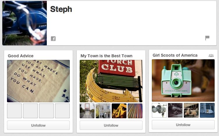 Steph's Pinterest