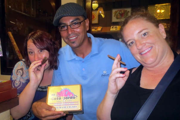 Cigarillos at Gato Gordo