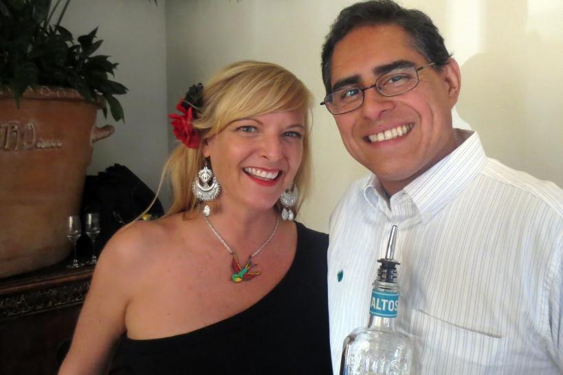 Kate Dana and Julio