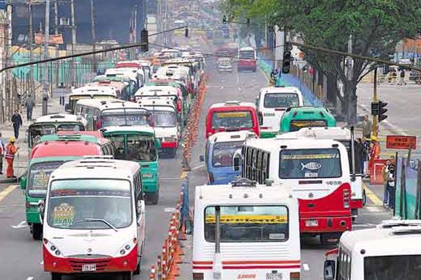Bogota Buses