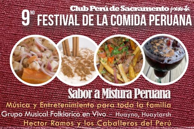 9no Festival de la Comida Peruana