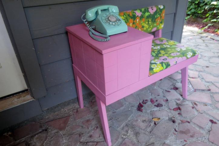 mesa de teléfono