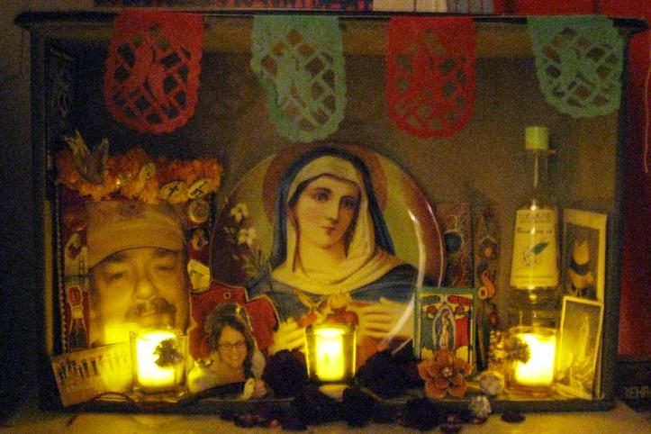 Altar de mi sotano