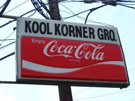 Kool Korner Sign