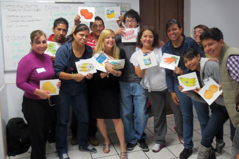 Teacher Training, Dec. 2012