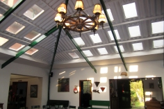 inside Finca Santa Cruz
