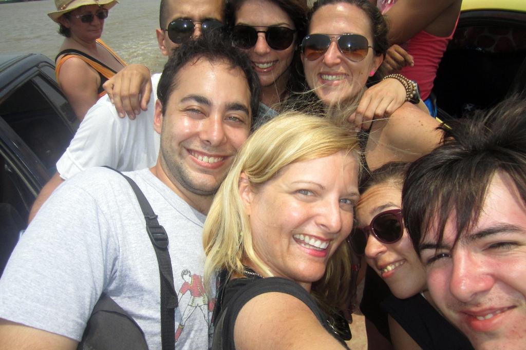 selfie-ferry