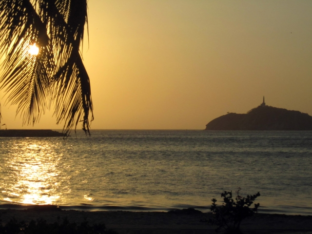 sunset Santa Marta