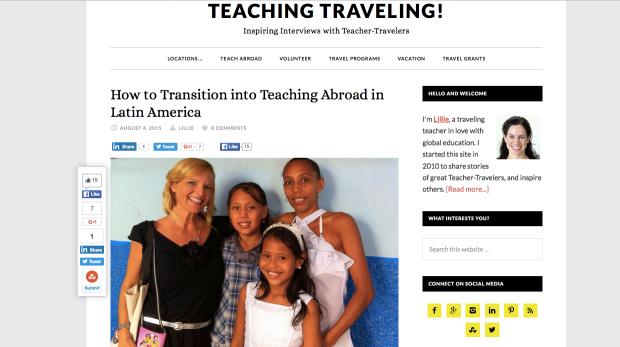 TeachingTraveling.com