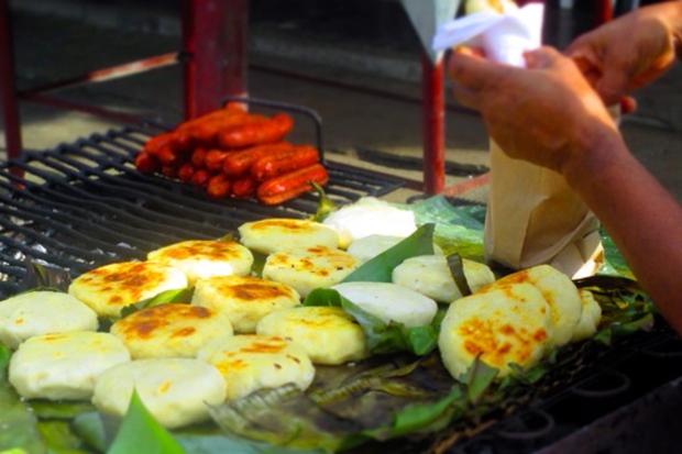 Not my actual arepa guy's asado. Photo: thisamericangirl.com