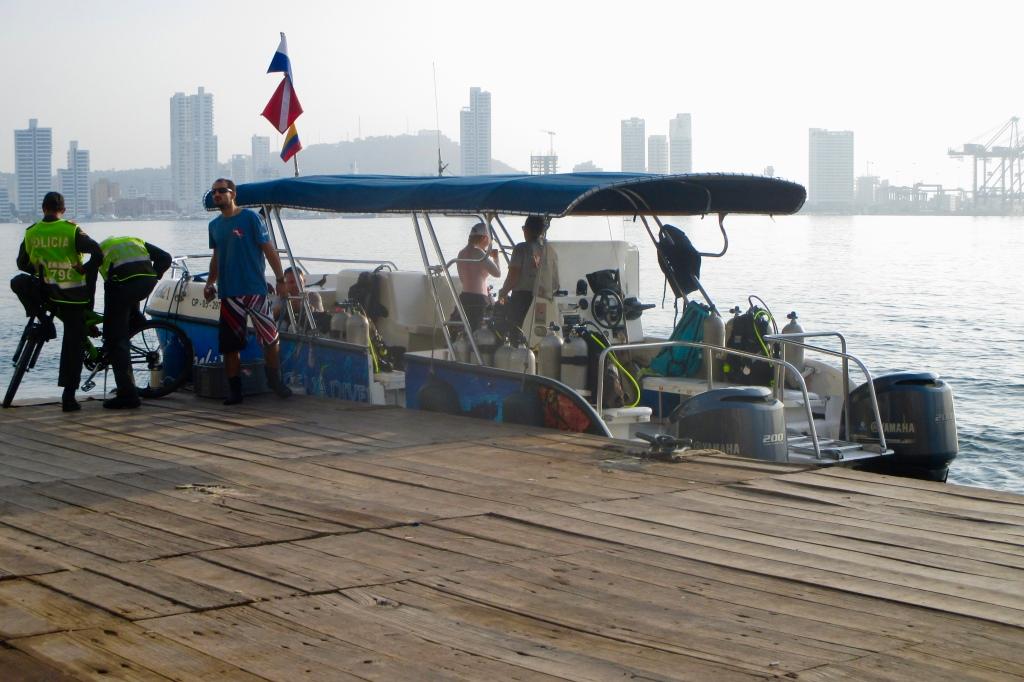 7:10 am dock Hatchi I