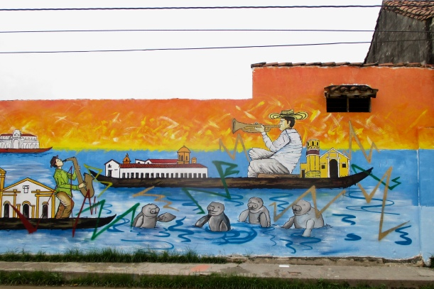 Mompox mural